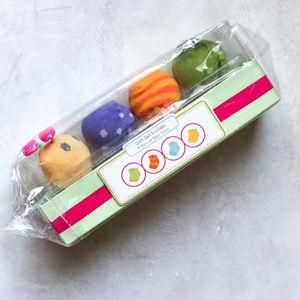 NWT Baby Aspen Caterpillar Crawlers Sock Set